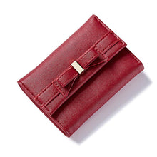 2018 Fashion Korean Style Knot Short Wallets Women Lovely Small Purse