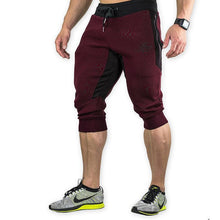 Mens Summer Jogger Sporting Thin Shorts Bodybuilding Short Pants Male Fitness Gyms Shorts