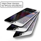 3 Pieces Tempered Glass for iPhone 5 5s SE 5c, ROCK Anti-blue Light/ High Clear Screen Protector