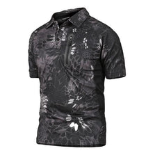 Summer Breathable Fabric Polo For Men Tactical Army Quick Dry Polo Shirt