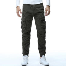 Mens Camouflage Tactical Cargo Pants Joggers Boost Military Casual Cotton Trousers