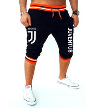Men Leisure Calf-Length Fitness Bodybuilding Short Fitness Outwear Shorts