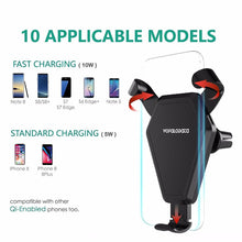 Fast wireless charger wireless cell phone fast charge wireless charging stand