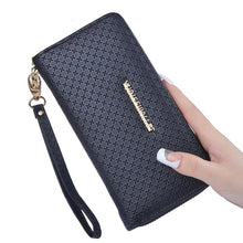 Women Wallets Leather Coin Purse Female Long Wallet Zipper Card Holder Purse
