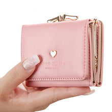 Fashion Women Wallets Multi-function High Quality Small Wallets Three Fold Wallet