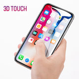 3 Pieces Set Tempered Glass For iPhone X , 9H Transparent High Definition Screen Protector