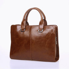 Office Bags Business Summaries Vintage Style PU Leather Briefcases Men Bags