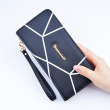 Wallet Female Women Leather Purses Long Wristlet Wallet