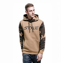 Men Thick Hoodies Style Cotton Army Pullover Hoodie Winter Warm Sweatshirt 2018