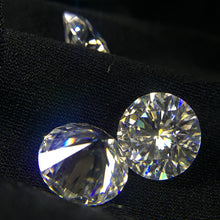 Round Brilliant Cut 0.2ct Carat 3.5mm F Color Moissanite Loose Stone