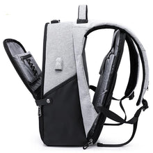 New 15.6inch Laptop Backpack Male USB Business Anti theft Backpack