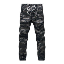 100 Cotton Mens Jogger Autumn Pencil Harem Pants Camouflage Military Cargo Trousers