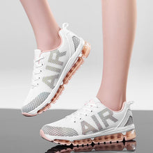Women's Running Shoes Air Cushioning Breathable Women Sneakers White Sport Shoes