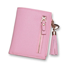 2018 Fashion Short Wallets Women Tassel Mini Card Holder Wallet