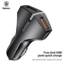 Quick Charge 3.0 Car Charger 5V3A QC3.0 Turbo Fast Charging Car-charger Dual USB