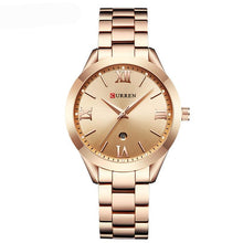 Jewelry Gifts For Women's Luxury Gold Steel Quartz Watch Ladies Clock