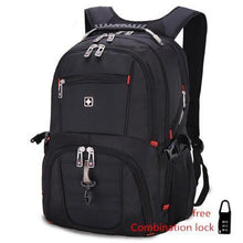 "Men MP3 USB charging fashion business casual tourist waterproof 16""17"" inch backpack"