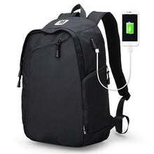 Multifunction USB charging Men 14inch Laptop Backpacks Travel backpack