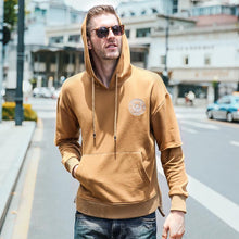 USA SIZE New Fashion Casual Men's Black Hoodie Men Sweatshirts 2018 Male Long Sleeve Hooded Jackets