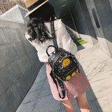 2018 Women's Colorful Crown Canvas Backpacks