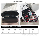 2018 Spring Women's Shoulder Bag Portable Korean Embroidered Tote Bags Handbags