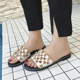 2018 summer personal women flippers soft outsole casual mules ladies outdoor black women slippers