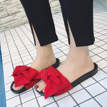 2018 Fashion Slides Women Summer Sandals Lovely butterfly-knot Beach Shoes Casual Flip