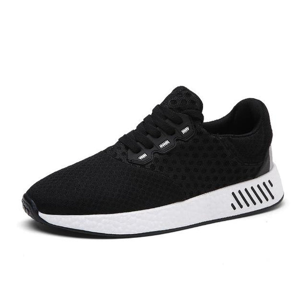 Breathable Running shoes Men sneakers Lace Up Sport Shoes Outdoor Walking  jogging shoes
