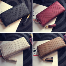 New Arrive 1Pc Women Leather Card Phone Holder Long Arrow Wallet