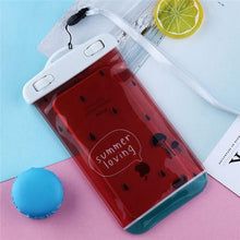 Waterproof Case For iPhone Swimming Cartoon Cover For Samsung Galaxy S9 S8 Plus Luxury Summer Bag