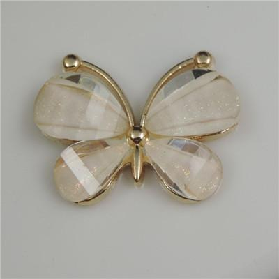 Butterfly Crystal Jewelry Making Cabochon Connector Accessories for Jewelry