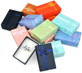 32Pcs Paper Gift Boxes for Jewelry Packaging 5*8*2.5cm Ring Earrings Necklace Holder