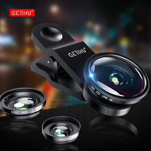 Wide Angle Macro Lenses Universal Mobile Phone Lens Fisheye Camera Fish eye