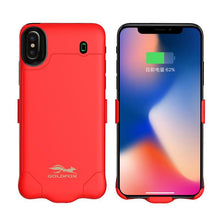 External Backup Rechargeable Battery Charger Case For iPhone X 4000/6000mAh