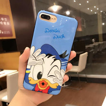 Cute Donald Duck Glossy Case Full Cover Edge Soft Silicon Shell Back Cover Case
