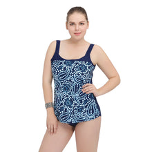 Swimwear For Women Plus Size One piece Triangle Print Swimsuit