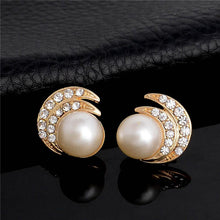 Simulated Pearl Jewelry Sets Classic Necklace Earings Sets