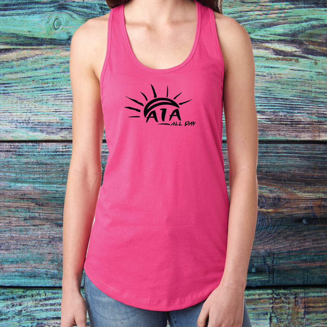 Ladies A1A all day Tank Top