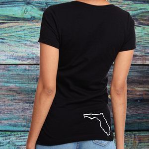 Ladies A1A All Day V-Neck