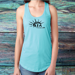 "Ladies A1A ""all day"" Tank Top"