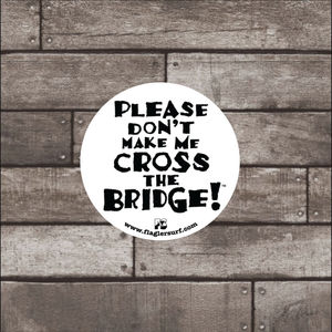 Bridge Round Sticker