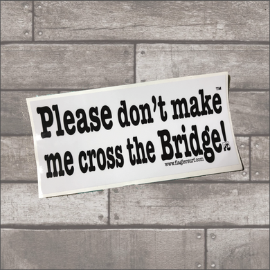 Bridge Bumper Sticker