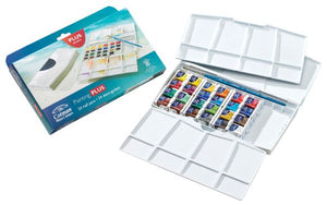 Watercolor Painting Plus 24-Color Set