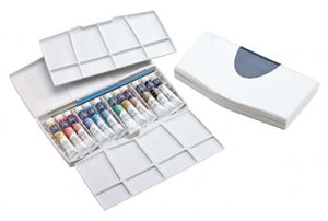 Watercolor Painting Plus 12-Color Tube Set