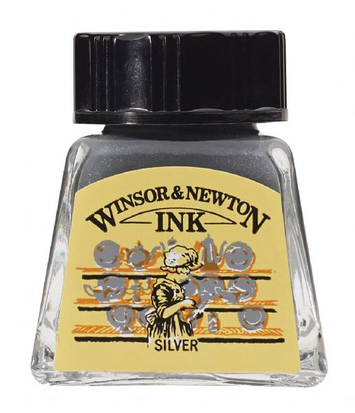 Drawing Ink 14ml Silver