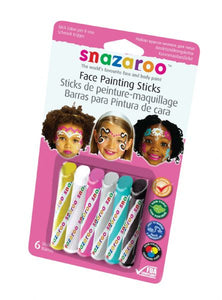 Face Painting 6-Stick Girl Set