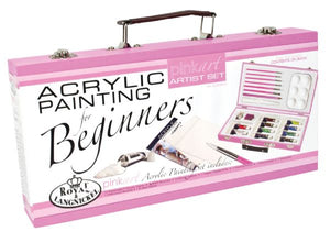 Pink Art Beginner Acrylic Painting Set