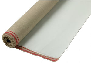 "54"" x 100yd Linen Acrylic Primed Canvas Roll 589 Portrait"