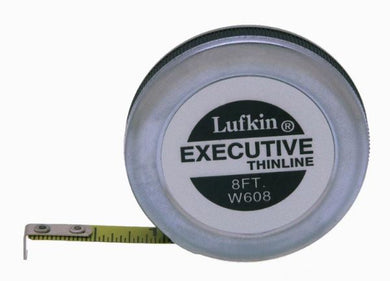 Thin Line 8' Pocket Tape Measure