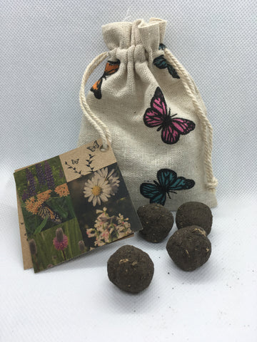 Butterfly Flutter - Radical Roots Seed Bomb Company